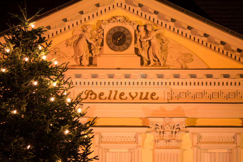Christmas at palace bellevue royalty free stock images