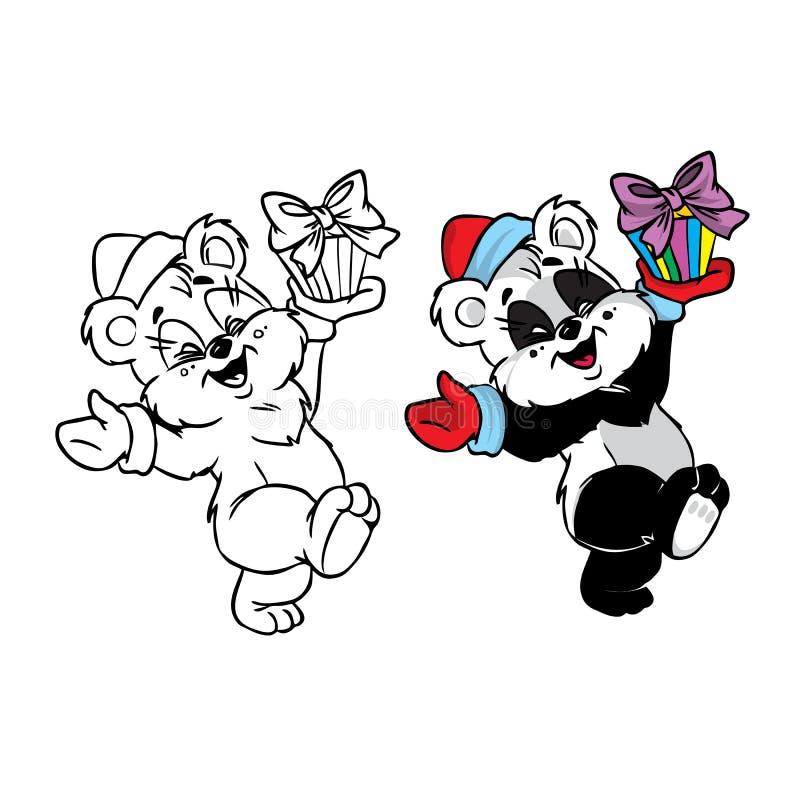 Download Christmas Panda Bear Stock Photography - Image: 21971072