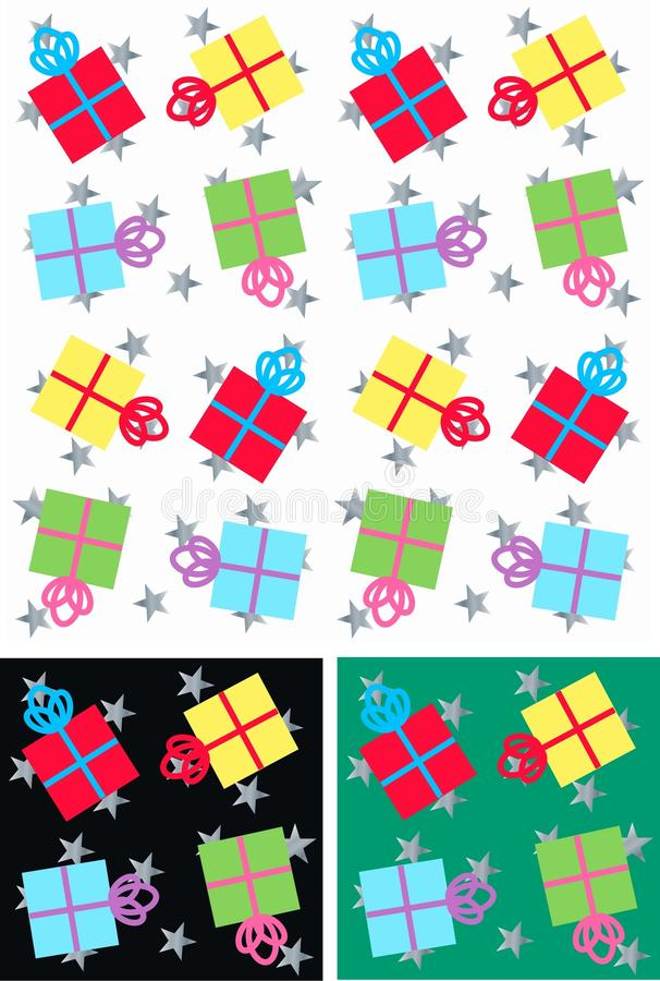 Free Christmas Parcels Seamless Royalty Free Stock Images - 15065809