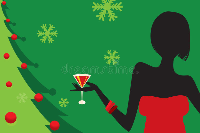 Christmas Party stock images