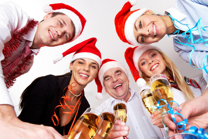 Download Christmas party stock photo. Image of alcohol, male, congratulations - 17246354