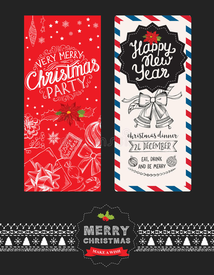 Christmas party invitation food menu restaurant stock vector download christmas party invitation food menu restaurant stock vector illustration of flyer stopboris Image collections