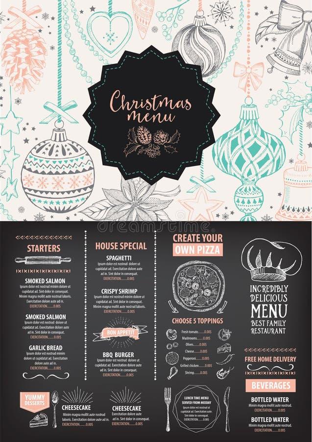Christmas party invitation restaurant food flyer stock vector download christmas party invitation restaurant food flyer stock vector illustration of idea stopboris Images