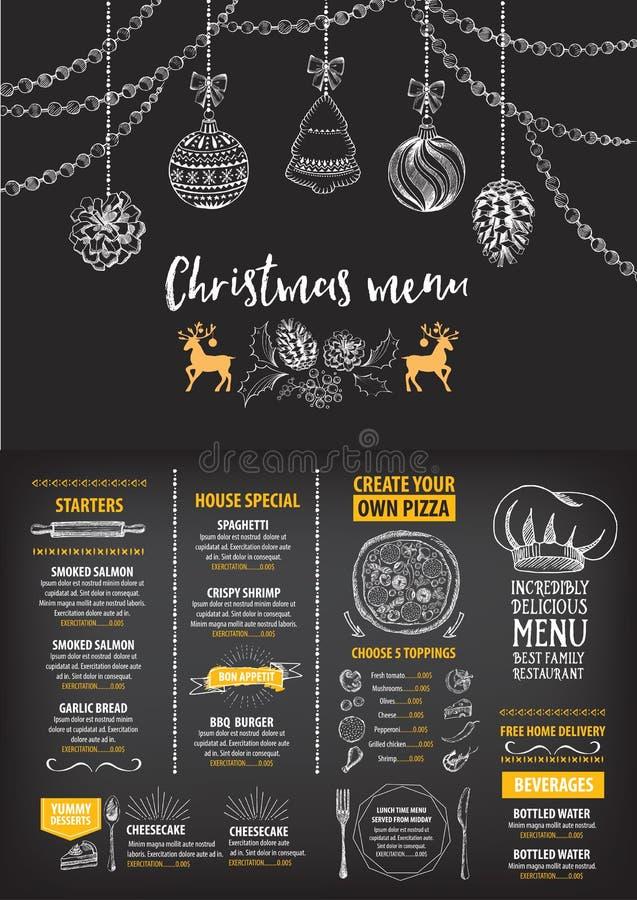 Christmas party invitation restaurant food flyer stock vector download christmas party invitation restaurant food flyer stock vector illustration of invitation stopboris Image collections