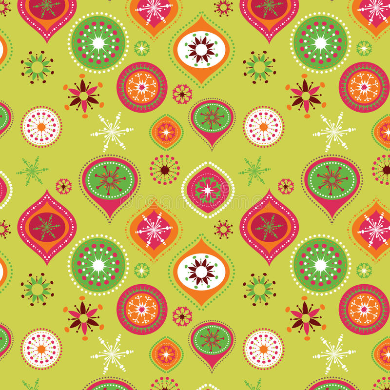 Download Christmas pattern stock vector. Image of element, holiday - 11761742