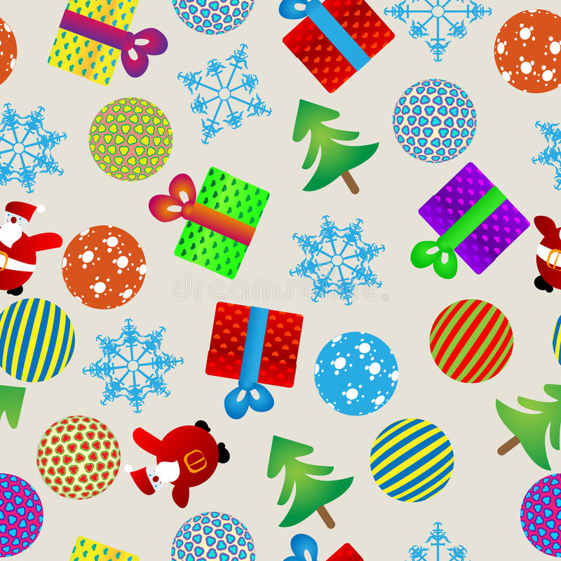 Christmas Pattern Royalty Free Stock Images