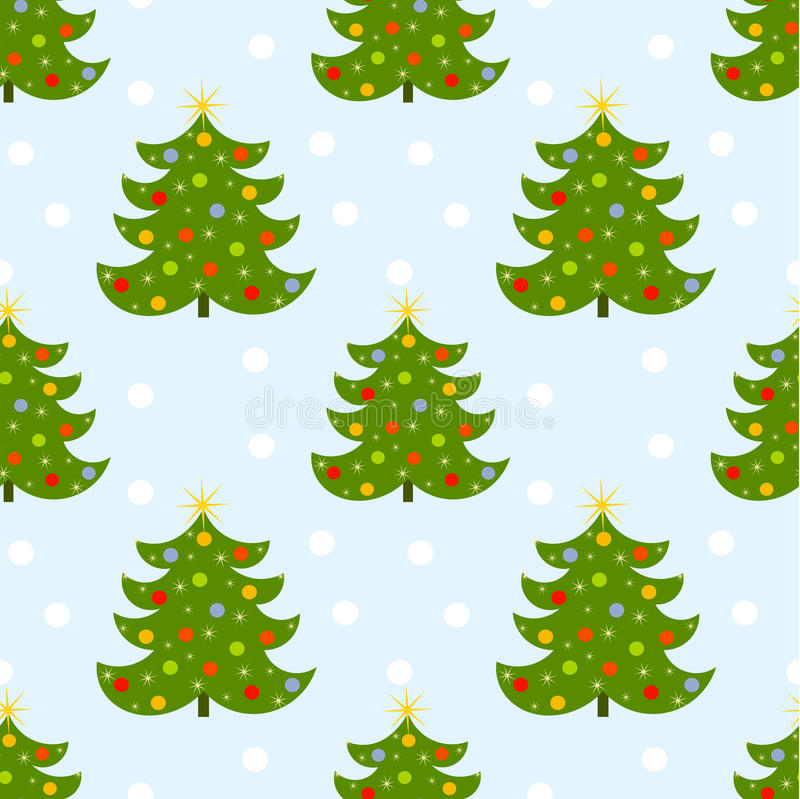 Download Christmas pattern stock vector. Illustration of illustration - 27388458