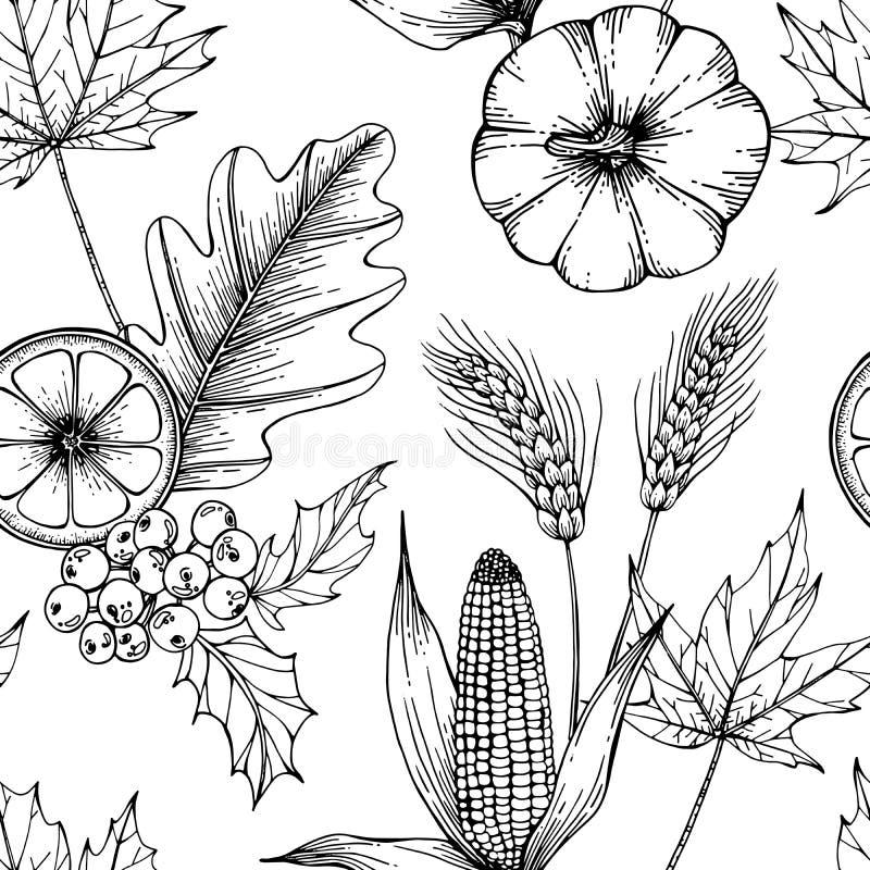 Christmas pattern seamless background illustration. stock illustration
