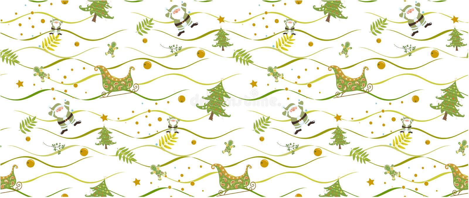 Christmas pattern seamless on white background vectors illustrator. Christmas pattern green seamless on white background vectors illustrator. christmas pattern stock photos