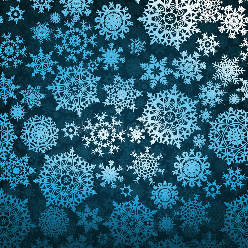 Christmas pattern snowflake background. EPS 8. Vector file included royalty free illustration