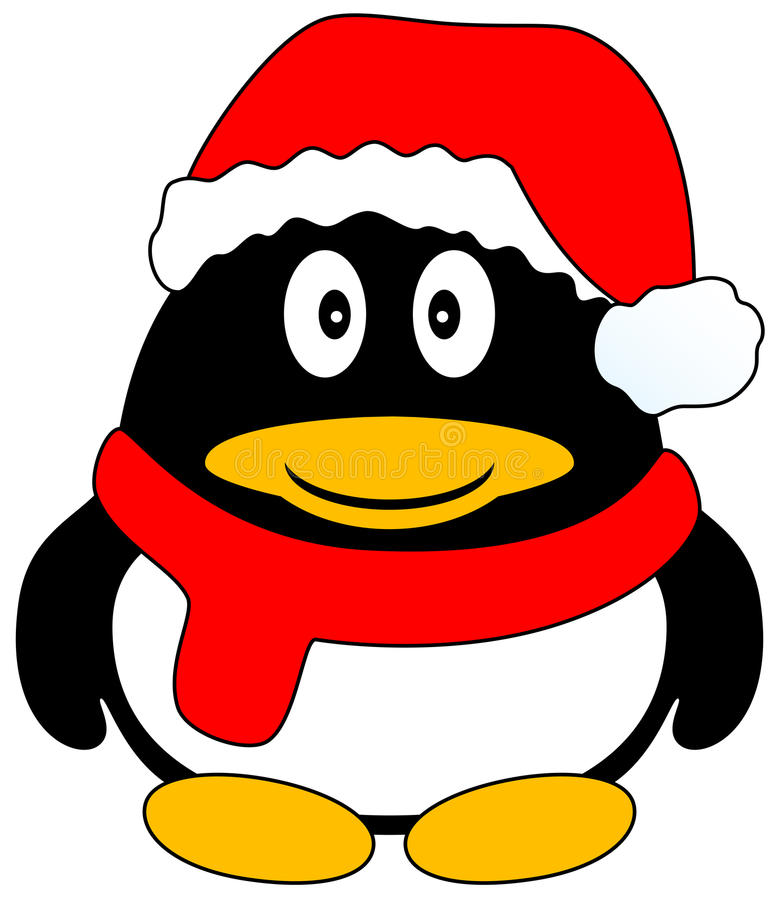 Download Christmas Penguin stock vector. Illustration of christmas - 12269373