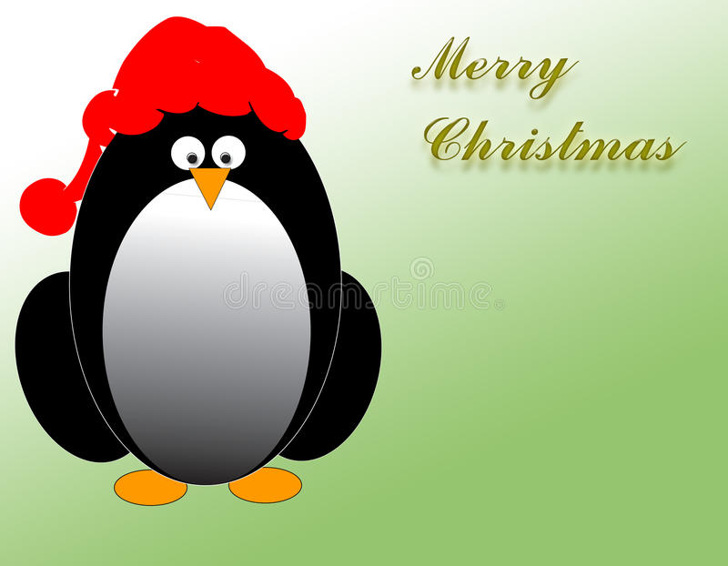 Download Christmas penguin stock illustration. Image of penguin - 34312742
