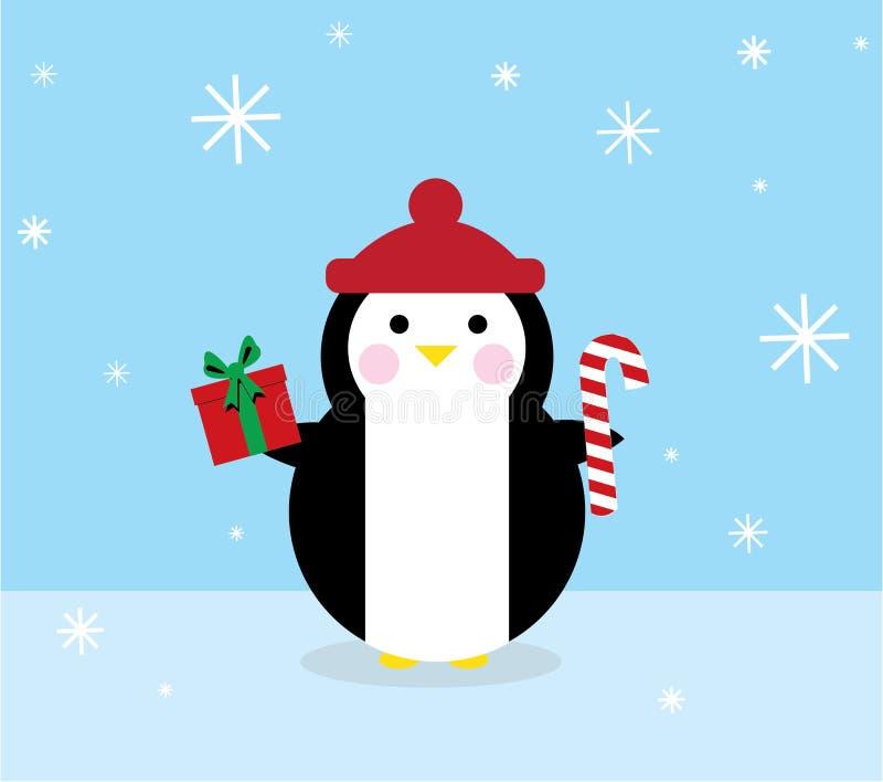 Christmas Penguin stock photography