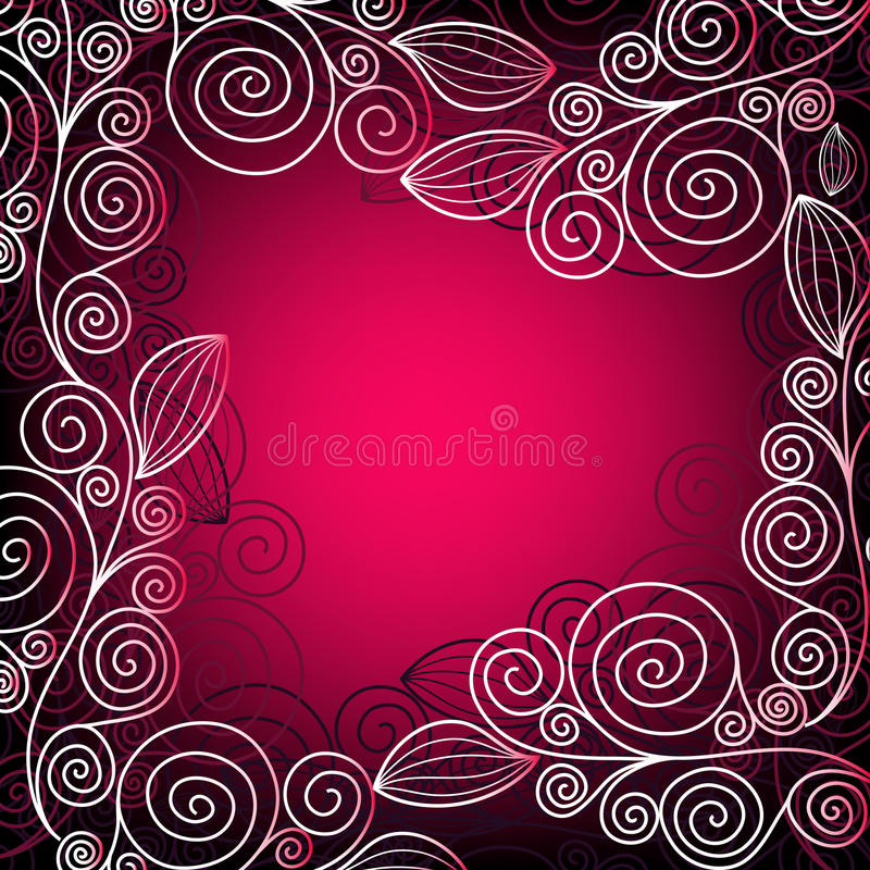 Free Christmas Pink-red Frame Stock Photo - 22108450