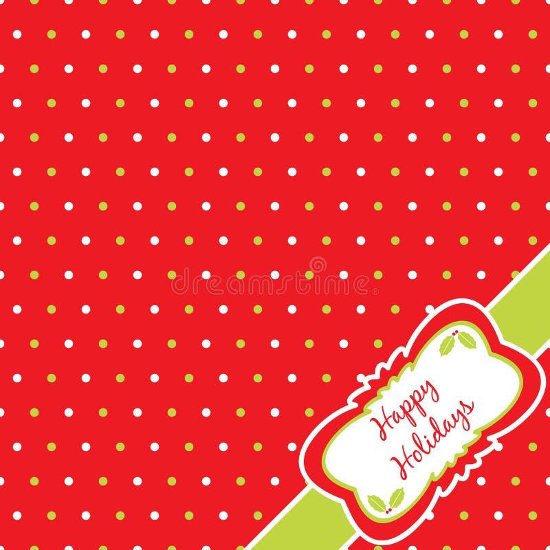 Christmas Polka Dot Royalty Free Stock Photography