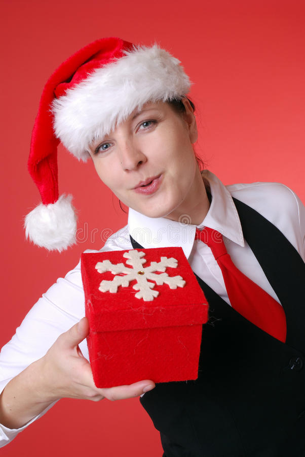 Download Christmas portrait stock photo. Image of smile, attractive - 13325630