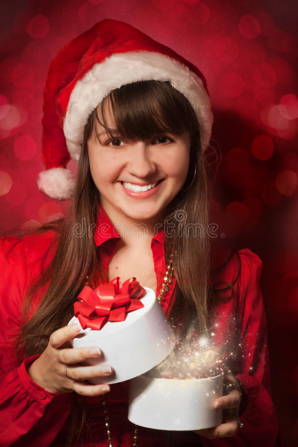 Download Christmas portrait stock photo. Image of light, adult - 16941536