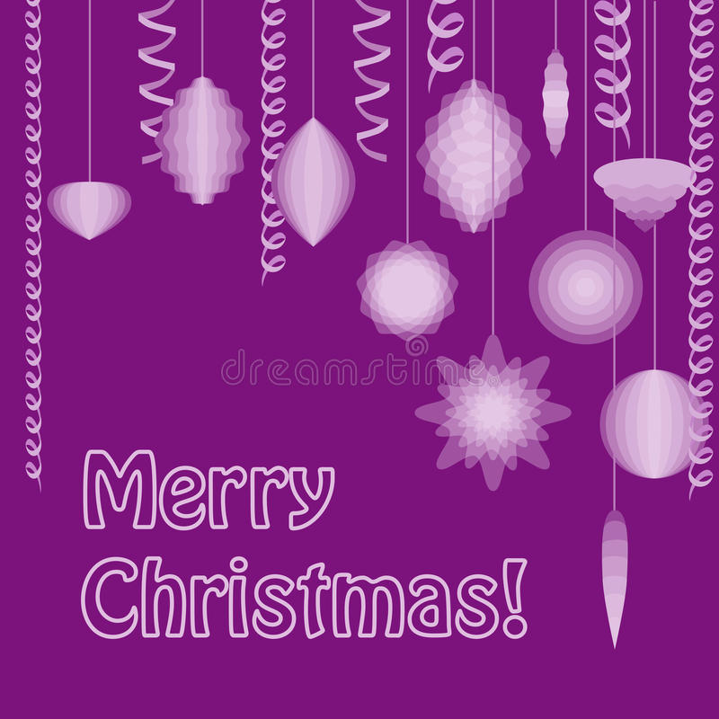 Download Christmas postcard stock vector. Image of card, vector - 27306497