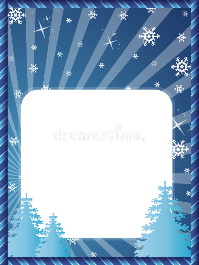 Download Christmas postcard stock vector. Illustration of snow - 6732323