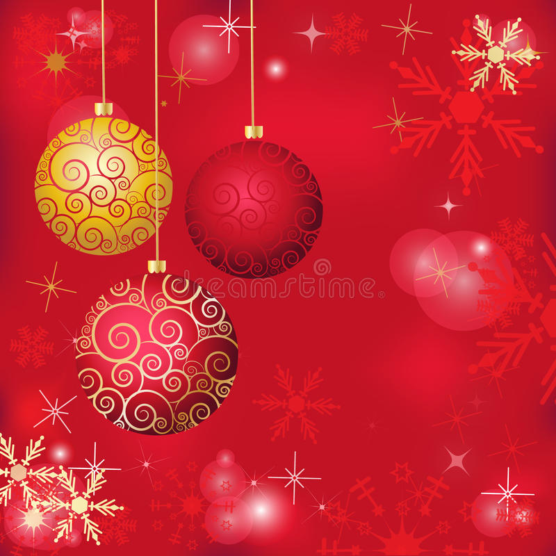 Christmas poster stock illustration