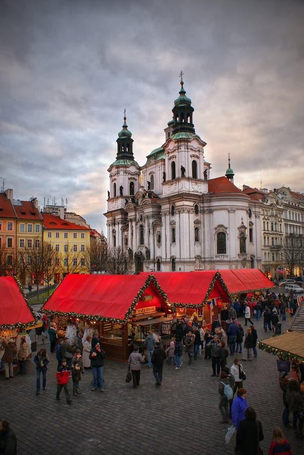 Christmas Prague royalty free stock photo