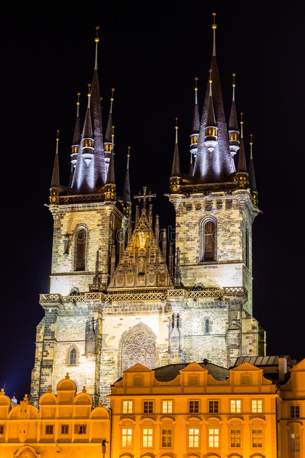 Christmas in Prague, Czech Republic royalty free stock photography