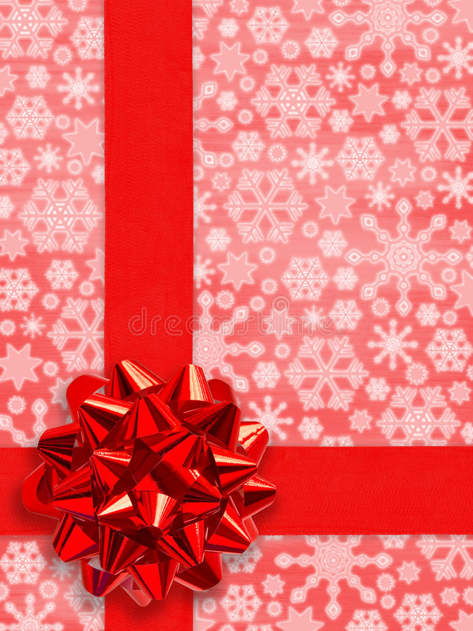 Free Christmas Present Royalty Free Stock Photography - 1270717