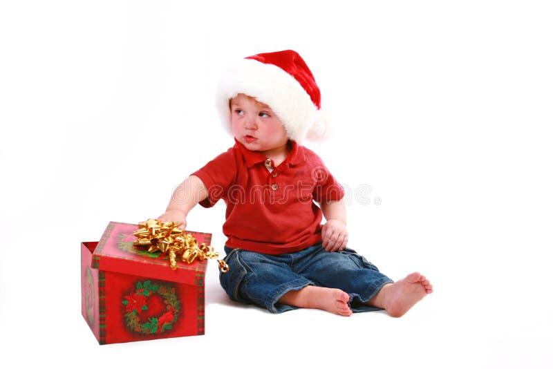 christmas present στοκ εικόνες με δικαίωμα ελεύθερης χρήσης
