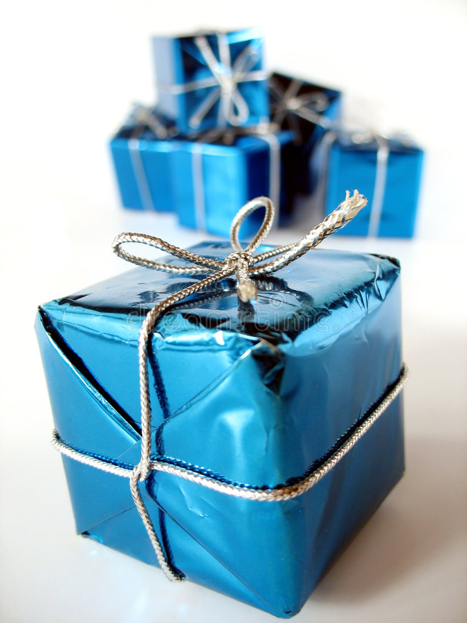Download Christmas present 4 stock image. Image of package, gift - 3432561