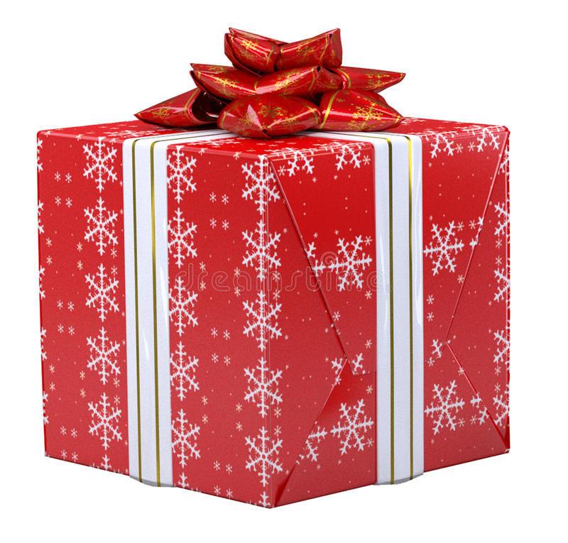 Free Christmas Present Royalty Free Stock Photography - 47407317