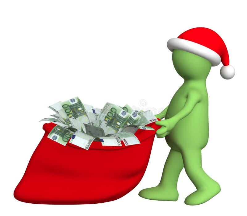 Christmas present vector illustration