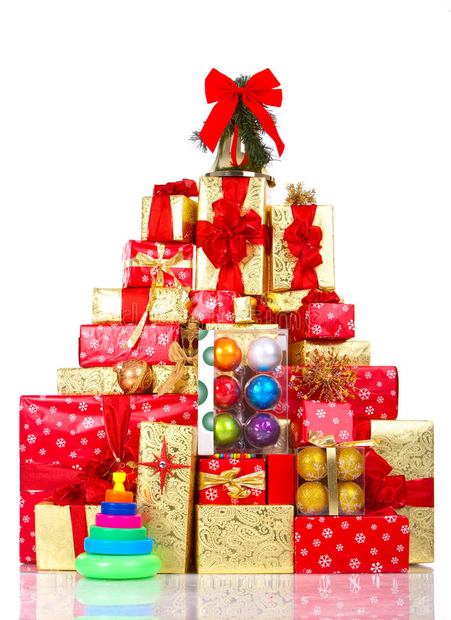 Download Christmas Presents stock photo. Image of isolated, bell - 10991582