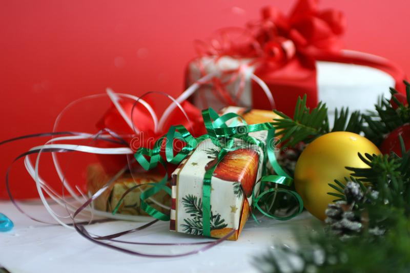 Christmas Presents Free Stock Images