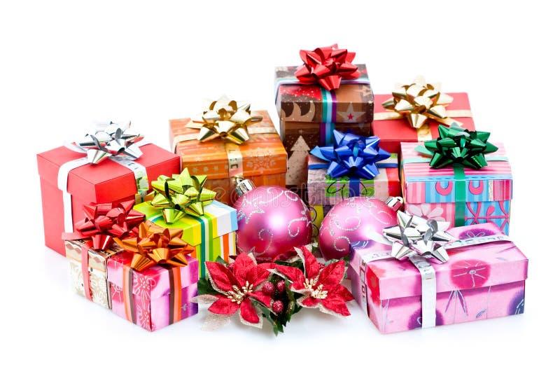 christmas presents стоковое изображение rf