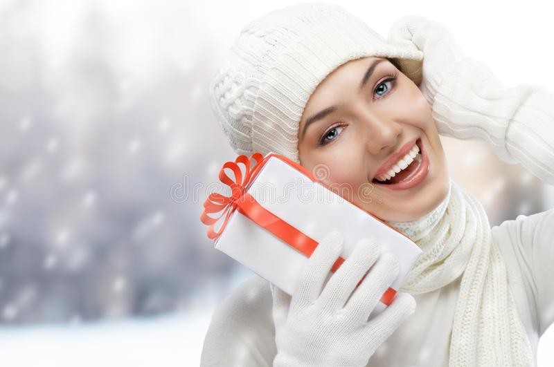 Download Christmas presents stock image. Image of gift, caucasian - 17478811