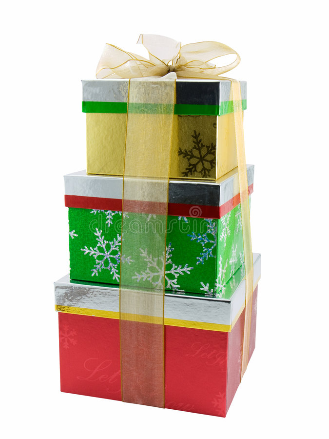 Download Christmas Presents stock photo. Image of xmas, stacked - 3740372
