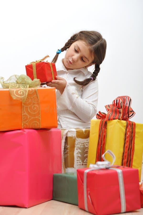 Download Christmas presents stock image. Image of inocence, gift - 7406467