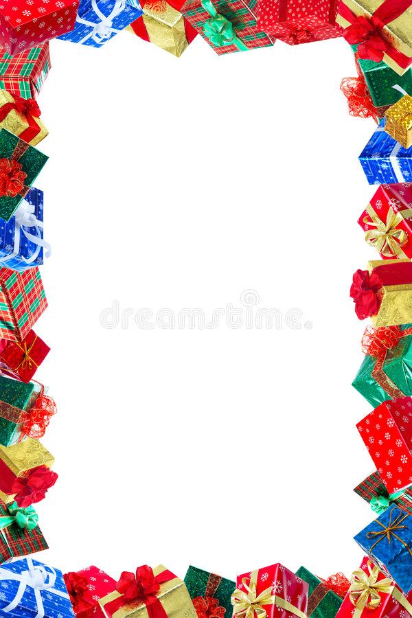 Download Christmas Presents Frame stock image. Image of christmas - 7099409