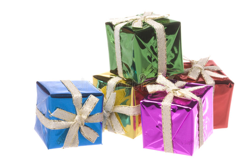 Download Christmas Presents Isolated Stock Photo - Image: 12252548