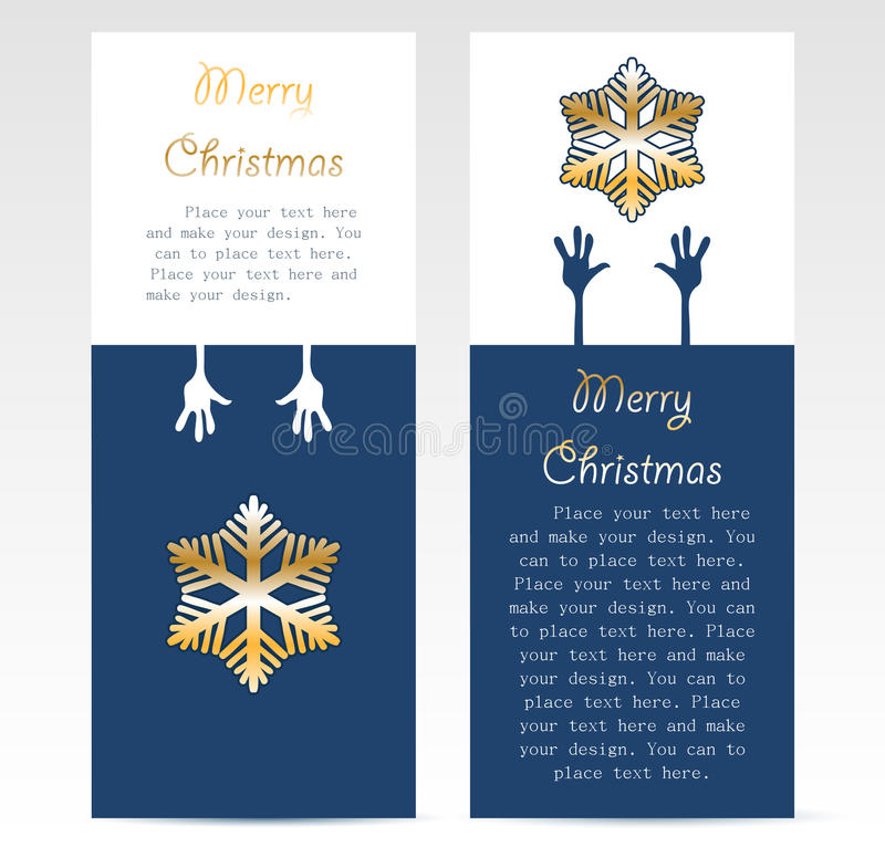 Download Christmas Promotion Card Design Stock Vector - Illustration of graphic, holiday: 21891651