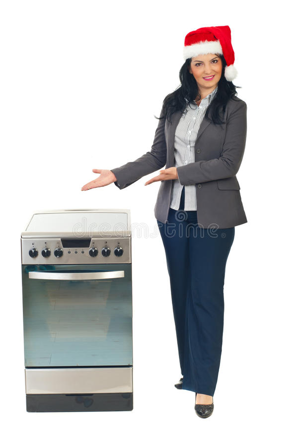 Download Christmas Promotion On The Stove Stock Images - Image: 17408924