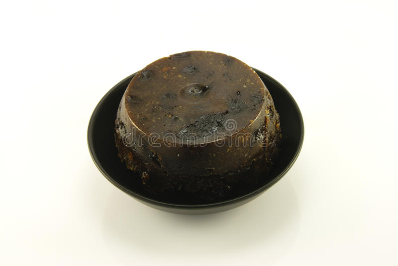 Download Christmas Pudding stock image. Image of black, holiday - 11566923