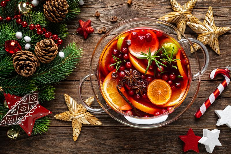 Mulled Wine Hot Toddy Stock Image. Image Of Glogg, Studio