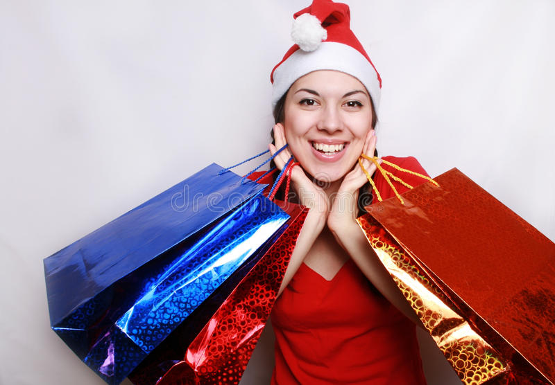 Download Christmas purchases. stock photo. Image of holiday, gifts - 11942954
