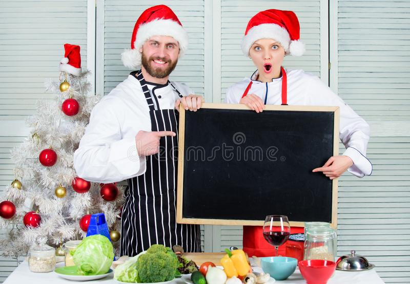 Christmas recipe concept. Family traditional menu for christmas dinner. Menu for our family. Cooking christmas meal. Man. Christmas recipe concept. Fami stock images