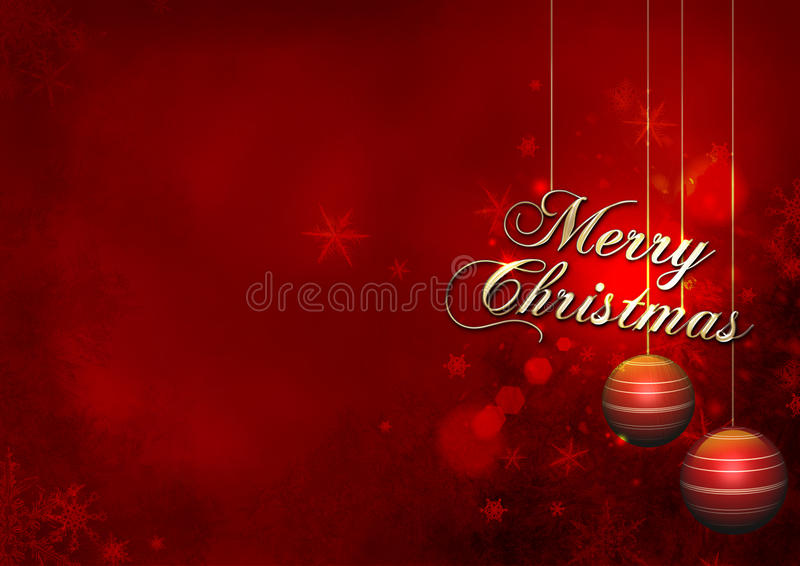 Download Christmas red stock illustration. Image of congratulations - 27466900