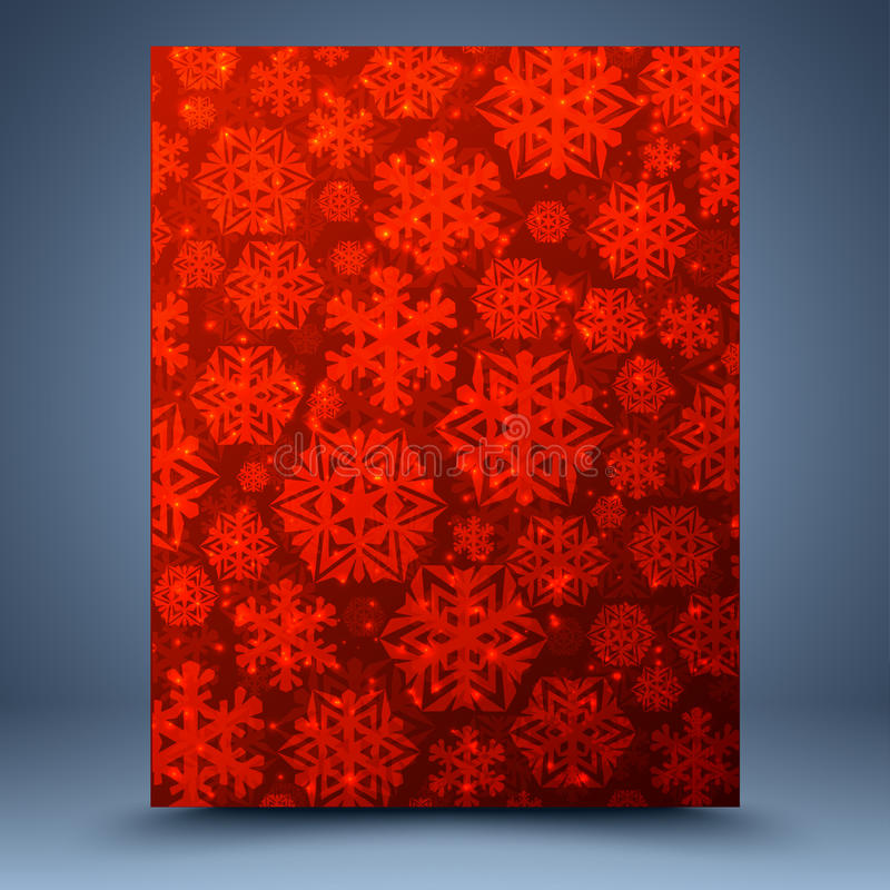 Download Christmas Red Abstract Background Stock Vector - Illustration of abstract, design: 35309320