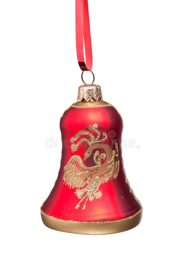Free Christmas Red Bell Royalty Free Stock Images - 12068839