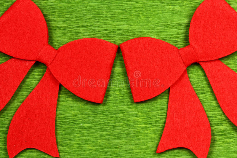 Download Christmas red bows stock photo. Image of handmade, beautiful - 27529620