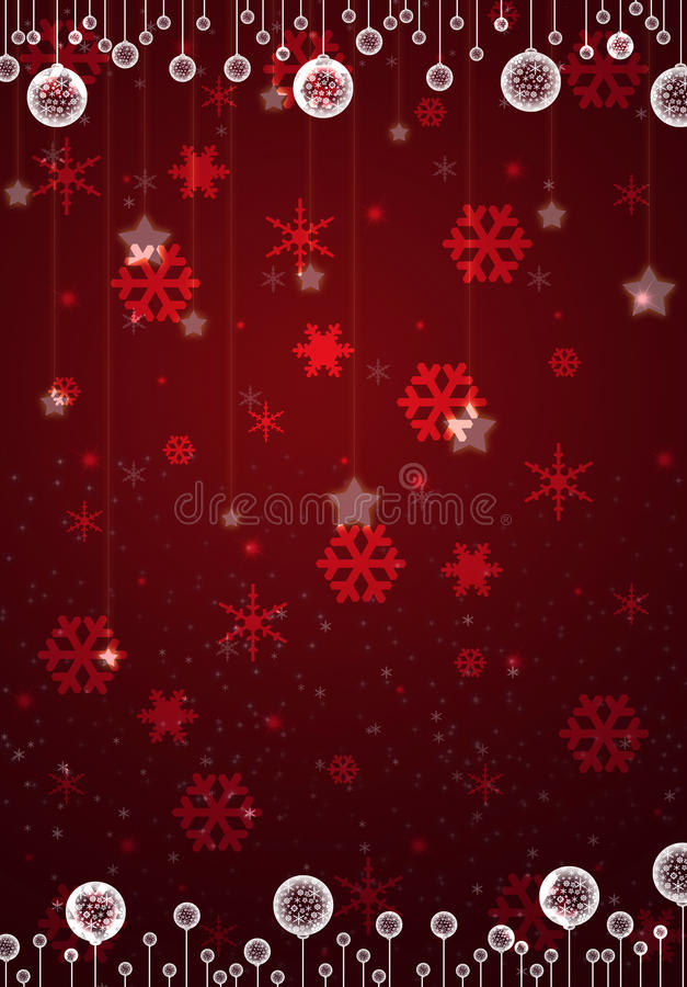 Free Christmas Red Card Royalty Free Stock Image - 22421406